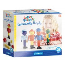 Guidecraft Better Builders Community People G8304