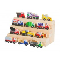 Wooden Truck Collection by Guidecraft Set of 12 G6718