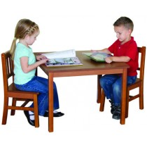Guidecraft Mission Table & Chair Set