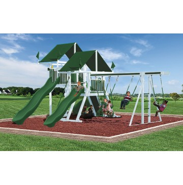 Swing Kingdom SK30 Vinyl Mega Mountain Climber Swing Set - 4 Color Options - sk-30-white-green-360x365.jpg