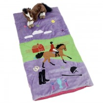 English Cowgirl Horse Sleeping Bag