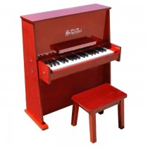 Schoenhut Day Care Durable Spinet Piano 37 Key Mahogany