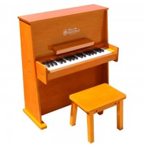 Schoenhut Day Care Durable Spinet Piano 37 Key Oak