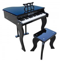 Schoenhut Elite Baby Grand Toy Piano 37 Key Black