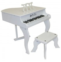 Schoenhut Fancy Baby Grand Toy Piano 30 Key White