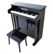 Schoenhut Traditional Deluxe Spinet Toy Piano 37 Key Black