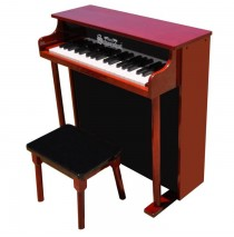 Schoenhut Traditional Deluxe Spinet Toy Piano 37 Key Mahogany/Bl
