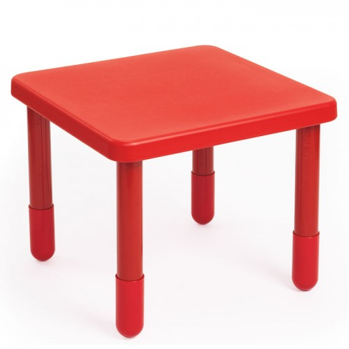 Angeles MyValue Set 4 Preschool Square   Choose Table Color    angeles red square  Angeles MyValue Set 4 Preschool Square Table   4 Chairs  Free Shipping. Preschool Chairs Free Shipping. Home Design Ideas