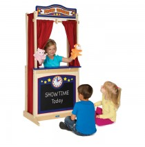 Wooden Floor Puppet Theater