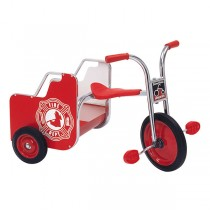 Angeles SilverRider Fire Truck Trike - Trike for Two