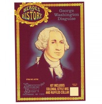 Heroes In History - George Washington Accessory Kit - One Size