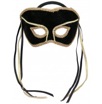 Black Couples Mask - One Size