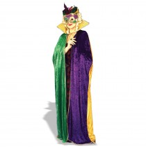 Mardi Gras Cape Adult - One Size