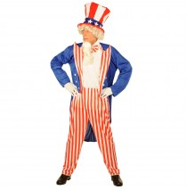 Uncle Sam Adult Costume - Standard One-Size