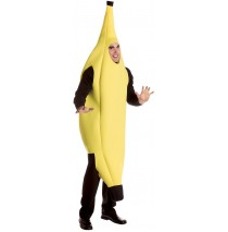 Banana Deluxe Adult Costume - L/XL