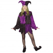Jester Adult Plus Costume - Plus (18-24)
