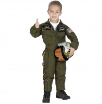 Jr. Armed Forces Pilot Toddler / Child Costume - Toddler (2/3)