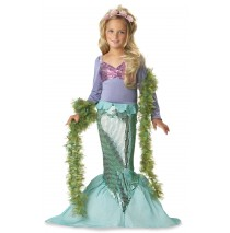 Lil' Mermaid Toddler / Child Costume - Medium (8-10)
