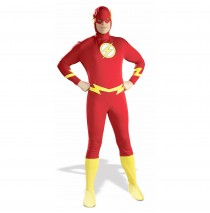 Justice League DC Comics The Flash  Adult Costume - X-Large