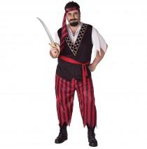 Pirate Adult Plus Costume - Plus