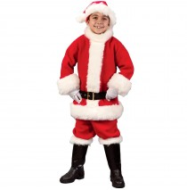 Santa Suit Child Costume - Large