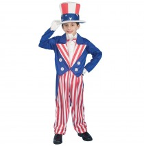 Uncle Sam Child Costume - Small