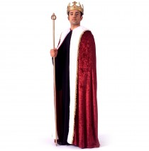 King Robe Adult Costume - One-Size