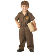 The UPS Guy Toddler Costume - 4-6