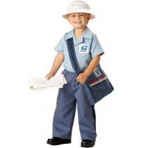 Mr. Postman Toddler Costume - 3-4