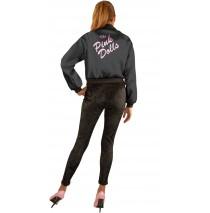 Pink Dolls Jacket (Black) Adult Plus Costume - 3X (26-30)