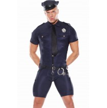 Police Man Adult Costume - Large/X-Large