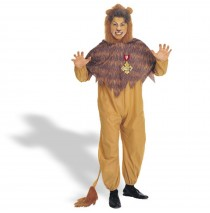 The Wizard of Oz - Cowardly Lion Adult Plus Costume - Plus