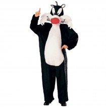 Looney Tunes Sylvester the Cat  Adult Costume - One-Size