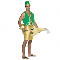 Genie in the Lamp Adult Costume - One-Size