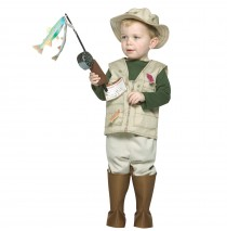 Future Fisherman Toddler Costume - 3T-4T