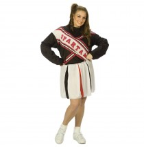 SNL Spartan Cheerleader Female Plus Adult Costume - Plus (16-24)