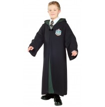 Harry Potter - Deluxe Slytherin Robe Child Costume - Large