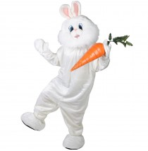Bunny Plush Deluxe Mascot Adult Costume - One-Size
