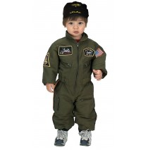 Jr. Armed Forces Pilot Suit Toddler Costume - 18 Months