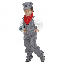 Jr. Train Engineer Suit Toddler / Child Costume - Small (4-6)
