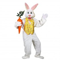 Professional Easter Bunny Adult Costume - One-Size