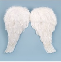 Soft Feather Child Angel Wings - One-Size
