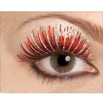 Red Fake Eyelashes - One-Size