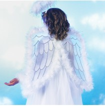Pretty Angel Wings Child - One Size