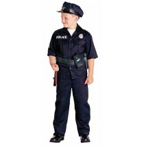 Police Officer Child Costume - Medium (8-10)