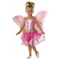 Pink Butterfly Fairy Child Costume - X-Small (2-4)