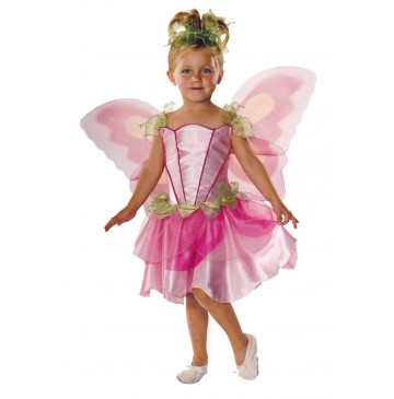 Pink Butterfly Fairy Child Costume - X-Small (2-4) - 38247-360x365.jpg