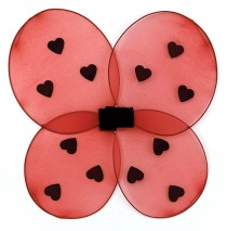 Ladybug Child Wings - One Size
