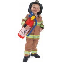 Firefighter Tan Child Costume - 2-4