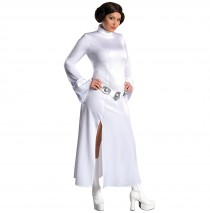 Princess Leia Adult Plus Costume - One Size (Plus)